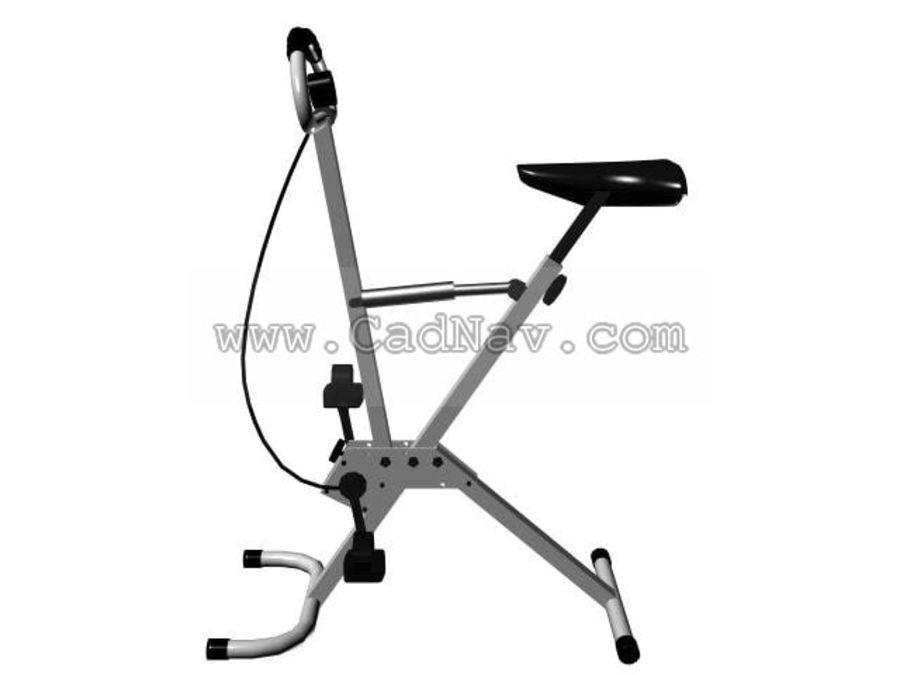 bicicleta de gimnasia royalty-free modelo 3d - Preview no. 1