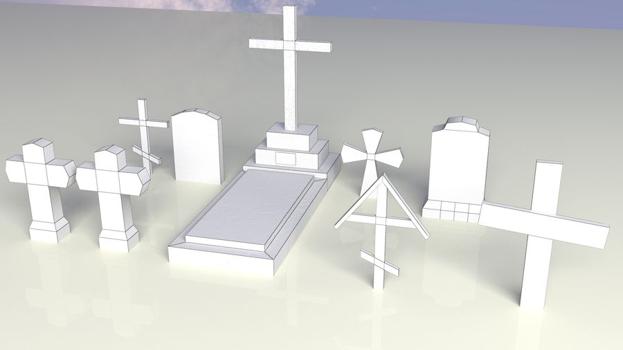 Entourage | Game Ready | Benches | Flower Bed | Border | Hanger | Watering can royalty-free 3d model - Preview no. 14