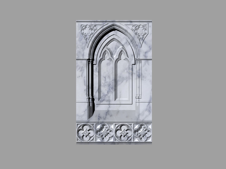 ancient columns ancient columns, arches ancient, ancient window royalty-free 3d model - Preview no. 5