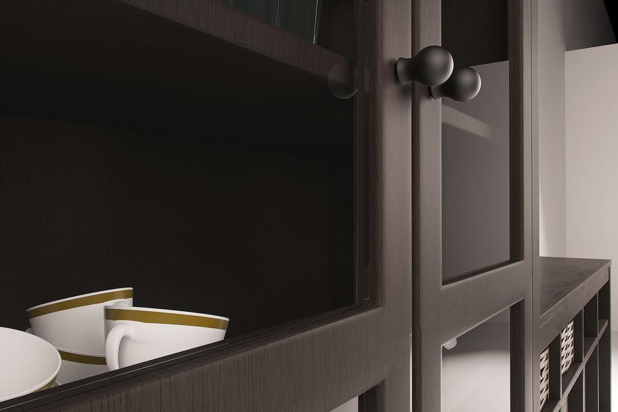 Suporte de TV IKEA e Gabinete da China royalty-free 3d model - Preview no. 4