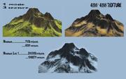 Góra 3d model