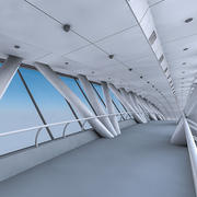 Kingdom Centre Skybridge Interior 3d model