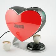 Coffee machine Bialetti Cuore CF80 3d model