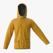 Rain Jacket 3d model