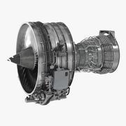 Turbofan Aircraft Engine CFM International CFM56 3d model
