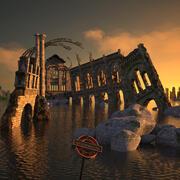 Ruina modelo 3d
