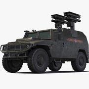Gaz Tiger Kornet 3d model