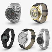Wrist Watch Collection 3d model