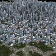 Büyük Şehir 48 3d model
