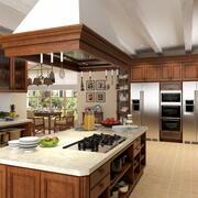 Landelijke keuken 3d model