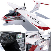 Icon A5 aircraft 3d model
