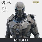 로봇 3d model