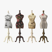 Mannequins 3d model