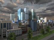 Dark City em tempo real 3d model