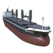 Bulk carrier 3d model