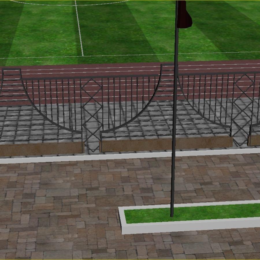경기장 royalty-free 3d model - Preview no. 5
