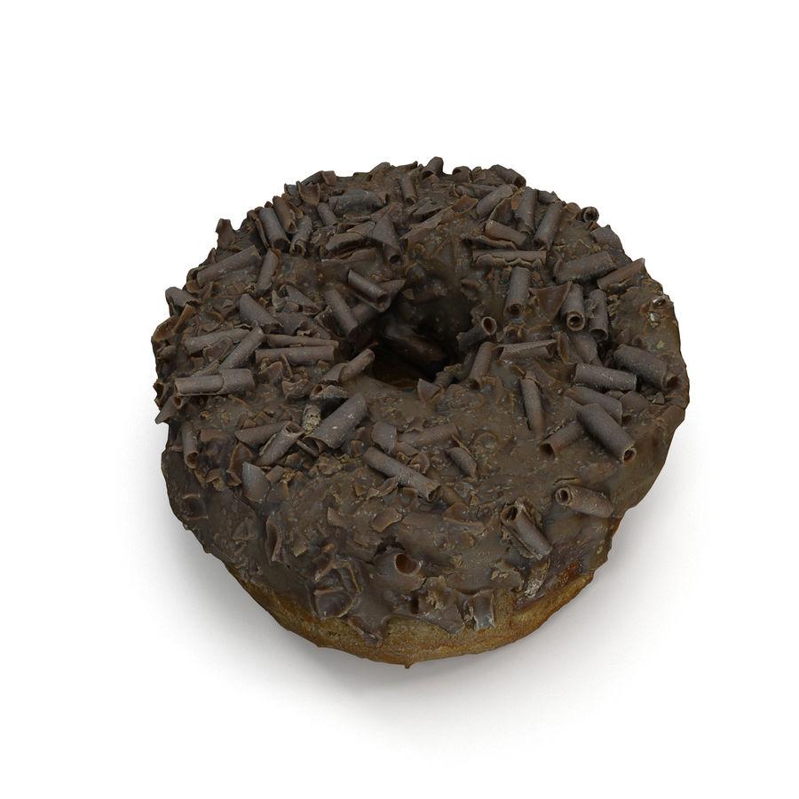 Ciambella al cioccolato royalty-free 3d model - Preview no. 3