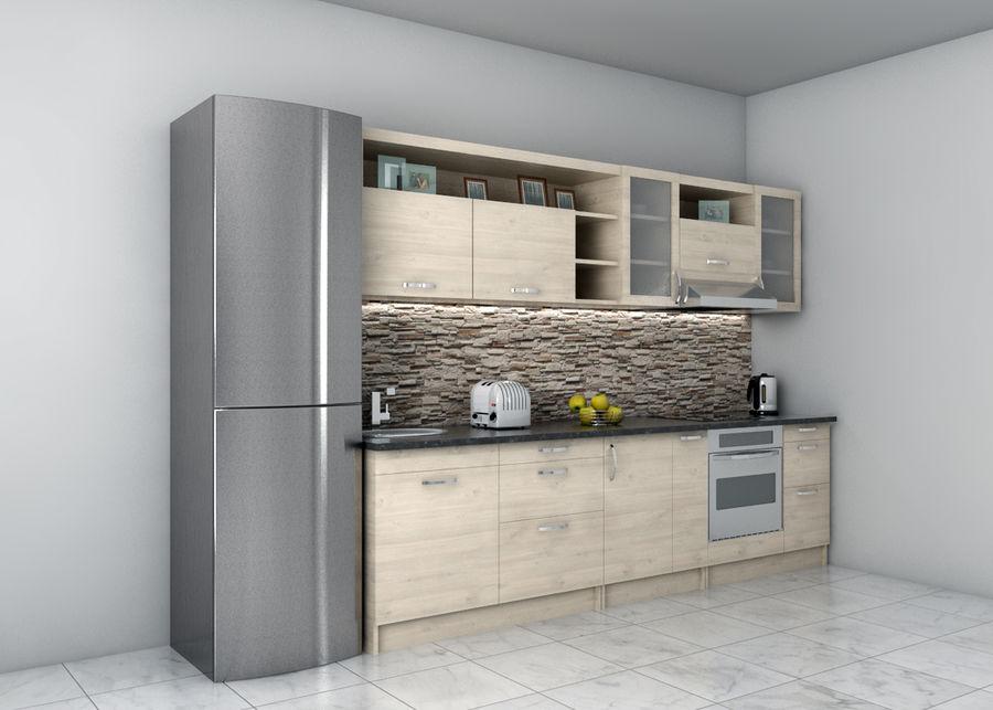 Kitchen 1 royalty-free 3d model - Preview no. 1