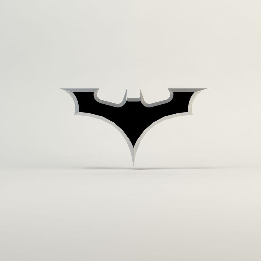 batarang de baja poli batman royalty-free modelo 3d - Preview no. 5