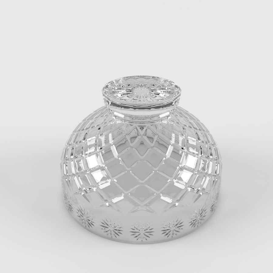 水果碗水果 royalty-free 3d model - Preview no. 4