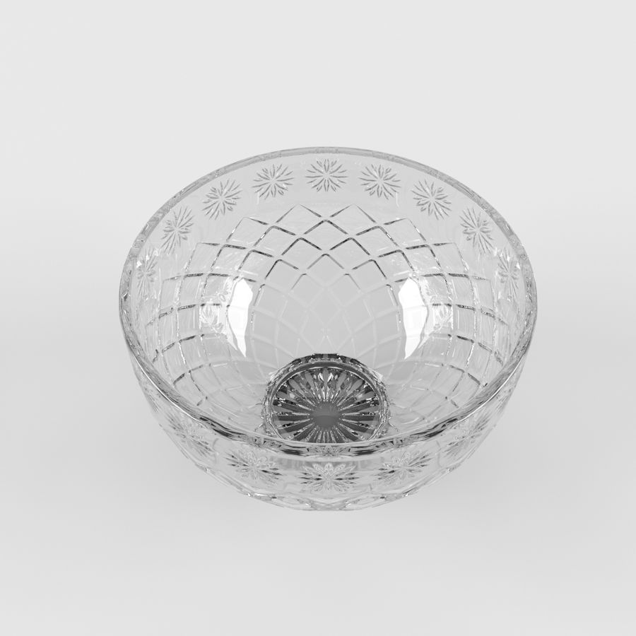 水果碗水果 royalty-free 3d model - Preview no. 3
