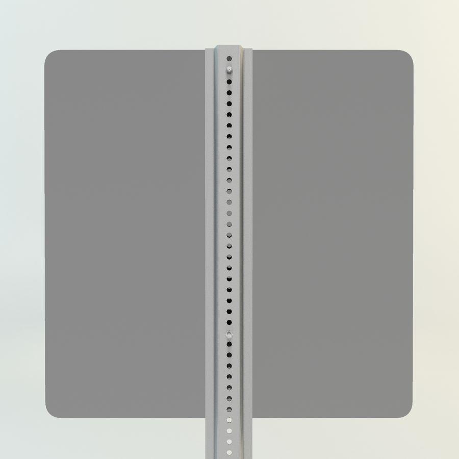 señales de aviones de bajo vuelo royalty-free modelo 3d - Preview no. 6