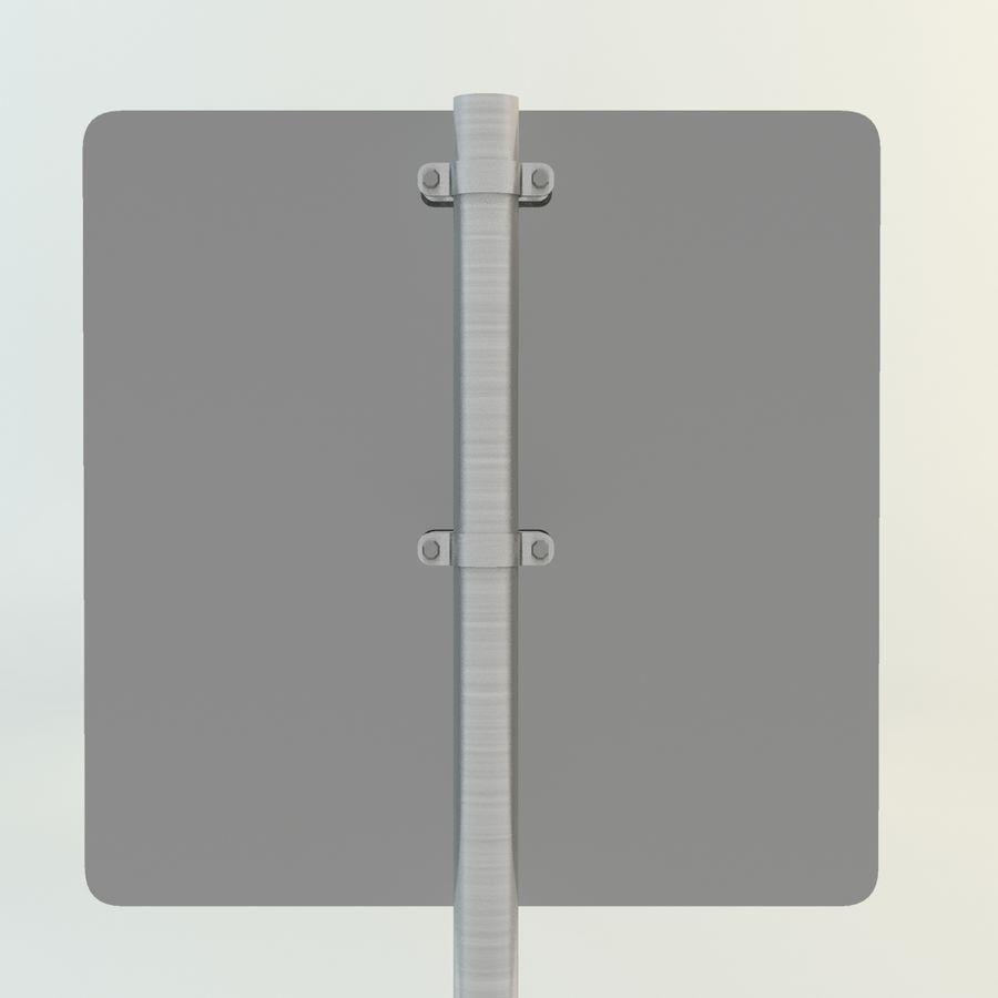 señales de aviones de bajo vuelo royalty-free modelo 3d - Preview no. 5