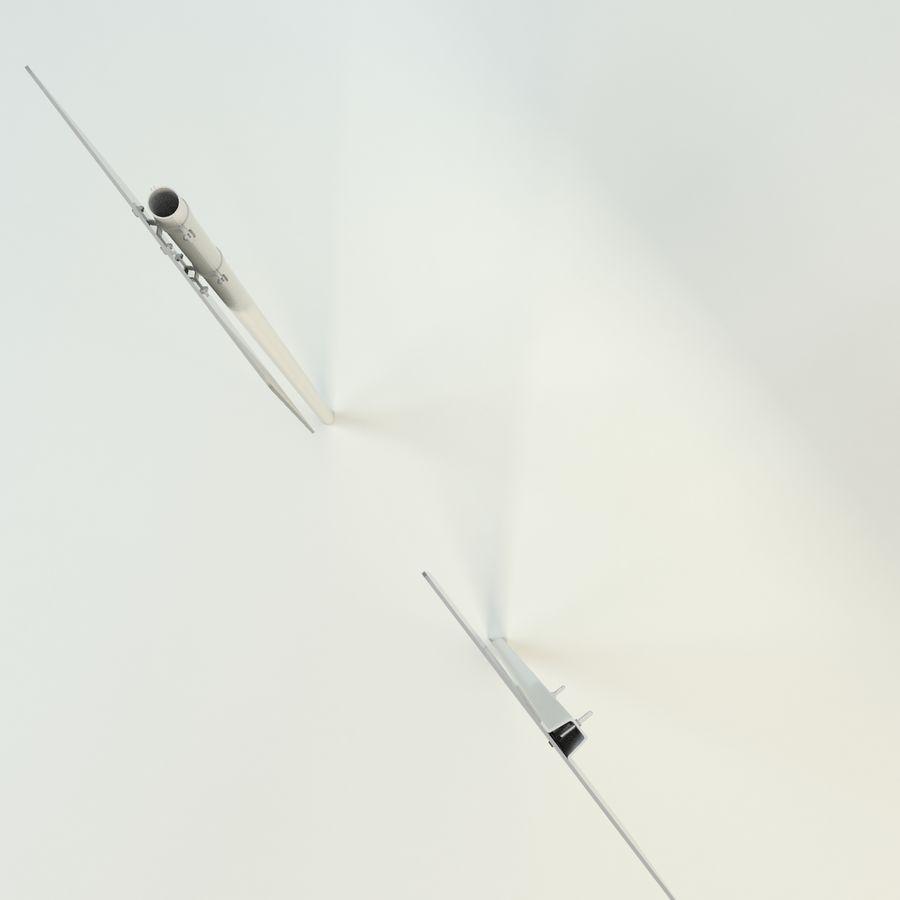 señales de aviones de bajo vuelo royalty-free modelo 3d - Preview no. 11