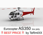 Eurocopter AS350 Cilt 3 3d model