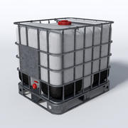 IBC Water Container 3d model