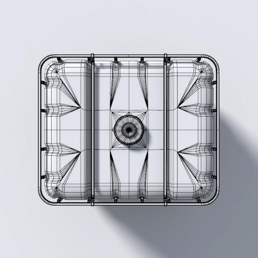 IBC 물 컨테이너 royalty-free 3d model - Preview no. 6