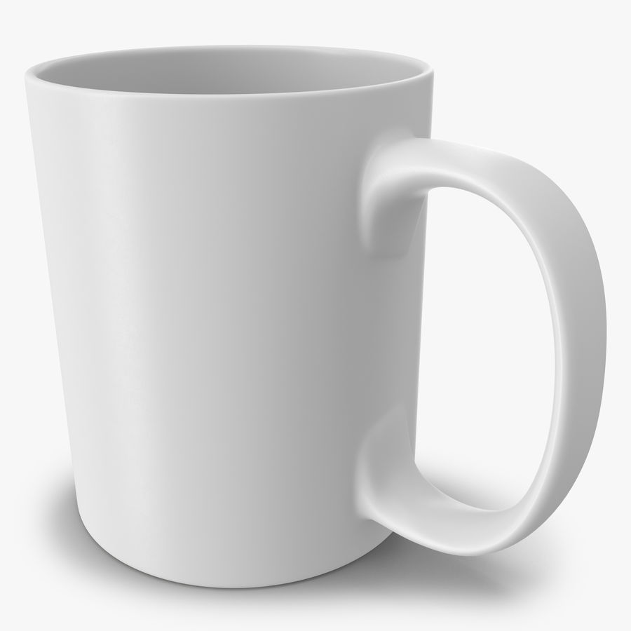 Empty Cup royalty-free 3d model - Preview no. 1