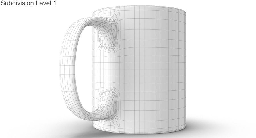 Empty Cup royalty-free 3d model - Preview no. 38
