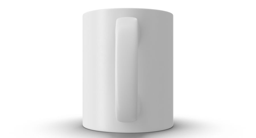 Empty Cup royalty-free 3d model - Preview no. 16