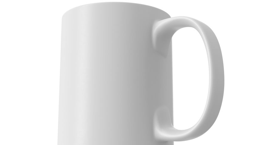 Empty Cup royalty-free 3d model - Preview no. 10