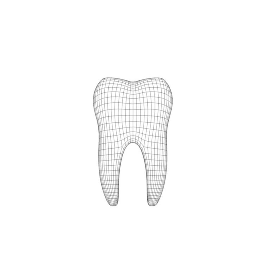Dent royalty-free 3d model - Preview no. 6