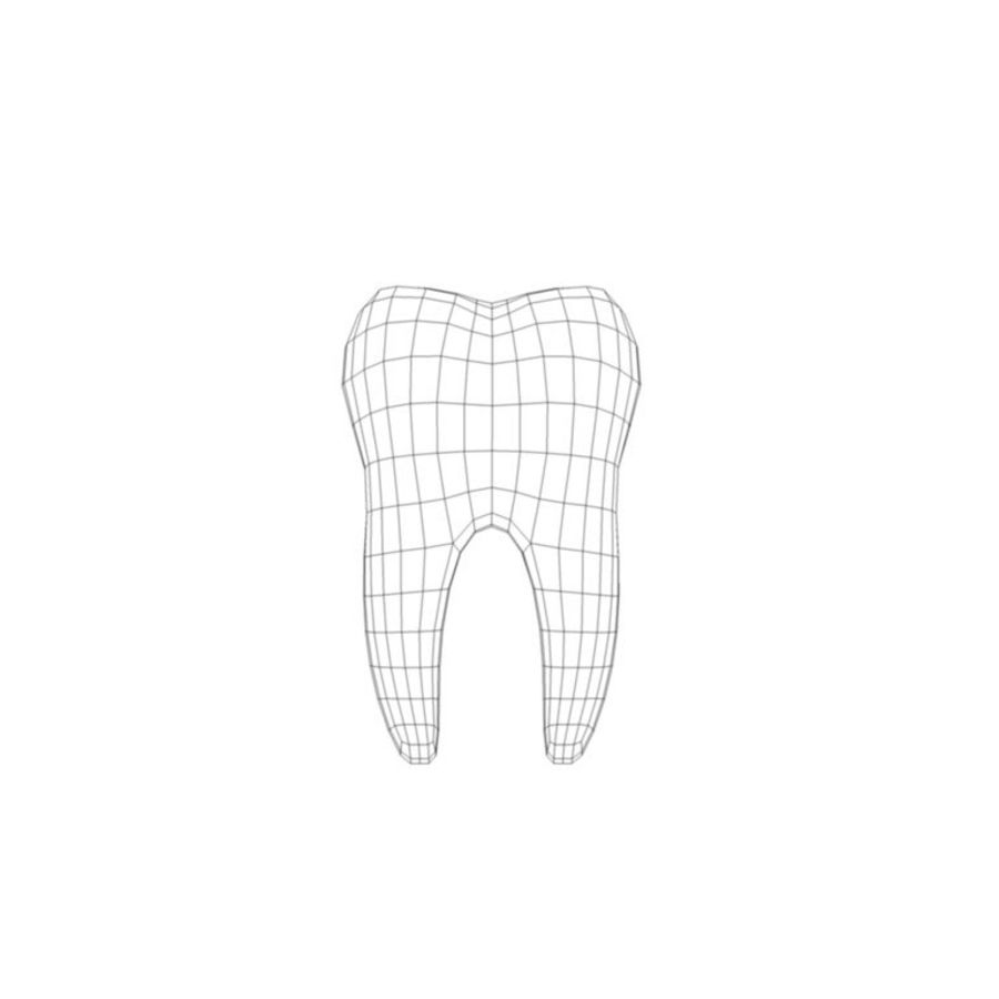 Dent royalty-free 3d model - Preview no. 5
