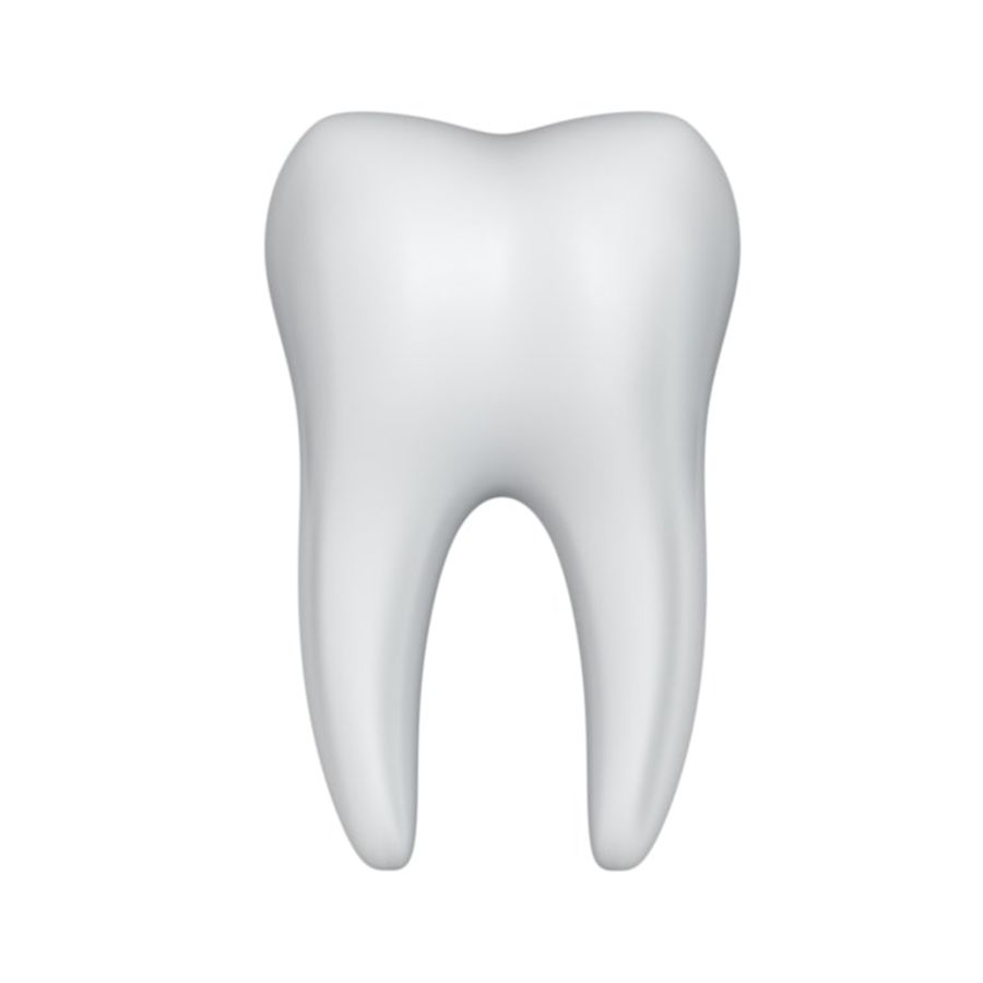 Dent royalty-free 3d model - Preview no. 1