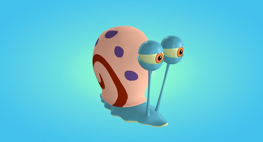 Gary royalty-free 3d model - Preview no. 2