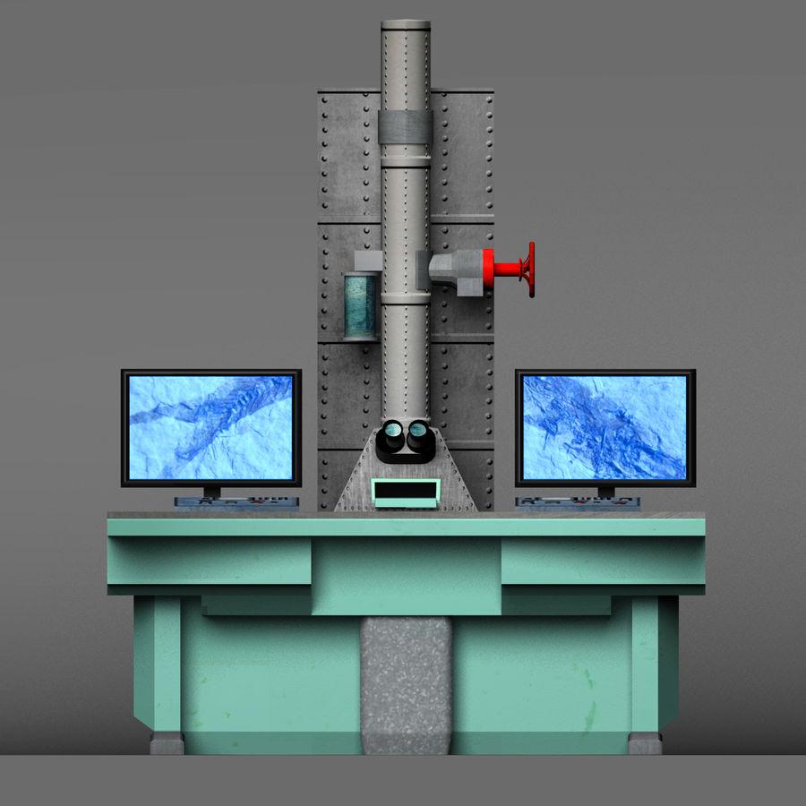 Электронный микроскоп royalty-free 3d model - Preview no. 13