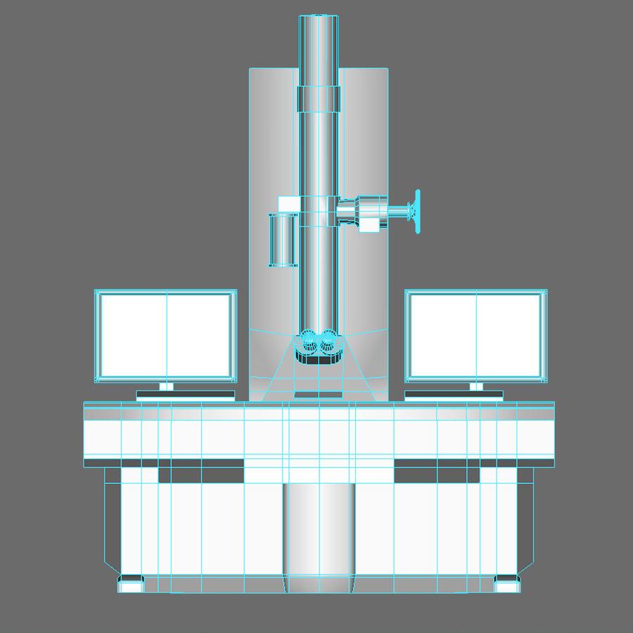 Электронный микроскоп royalty-free 3d model - Preview no. 14