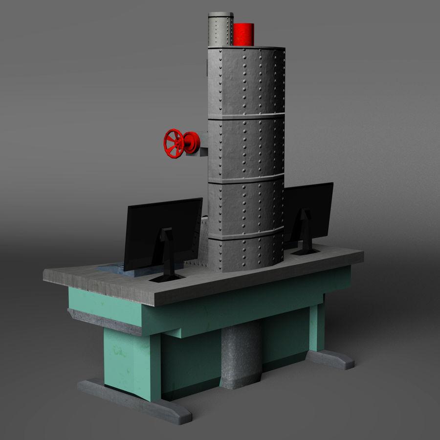 Электронный микроскоп royalty-free 3d model - Preview no. 7