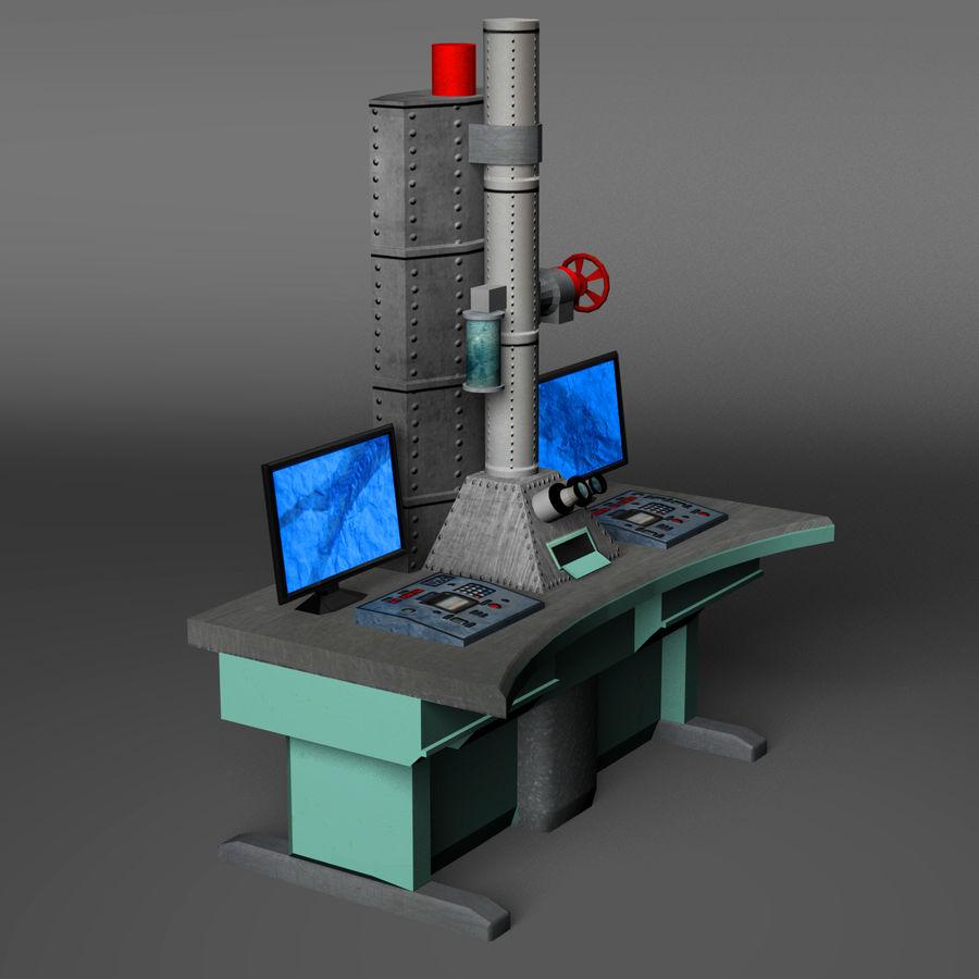Электронный микроскоп royalty-free 3d model - Preview no. 10