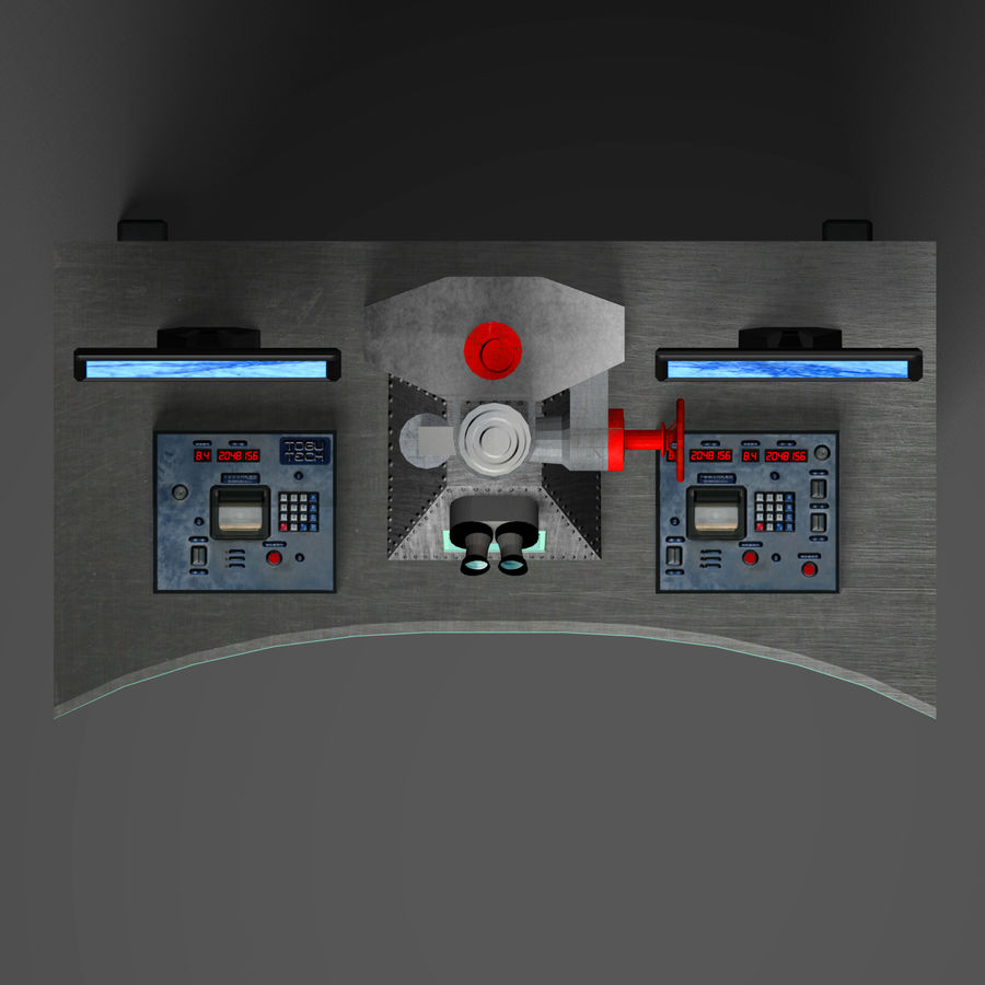 Электронный микроскоп royalty-free 3d model - Preview no. 19