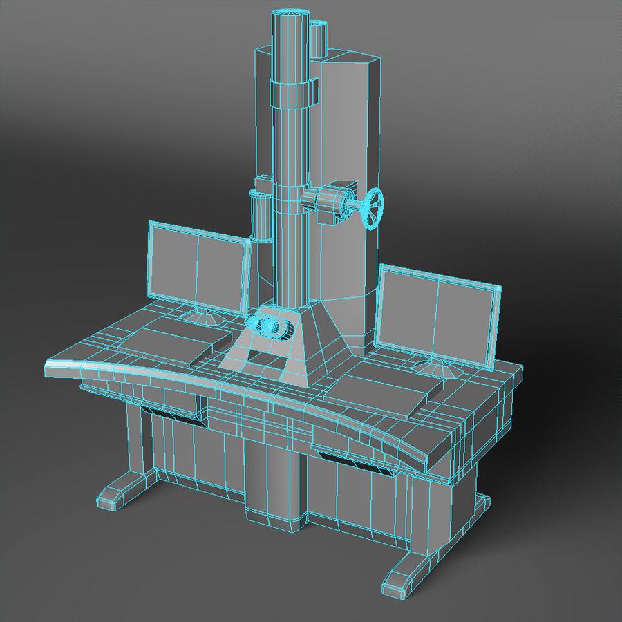 Электронный микроскоп royalty-free 3d model - Preview no. 5