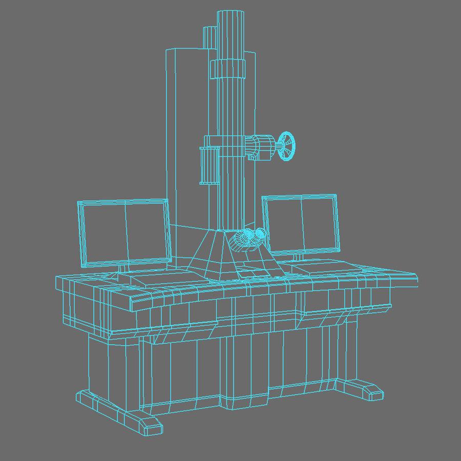 Электронный микроскоп royalty-free 3d model - Preview no. 3