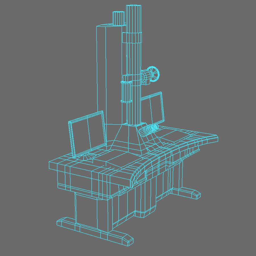 Электронный микроскоп royalty-free 3d model - Preview no. 12