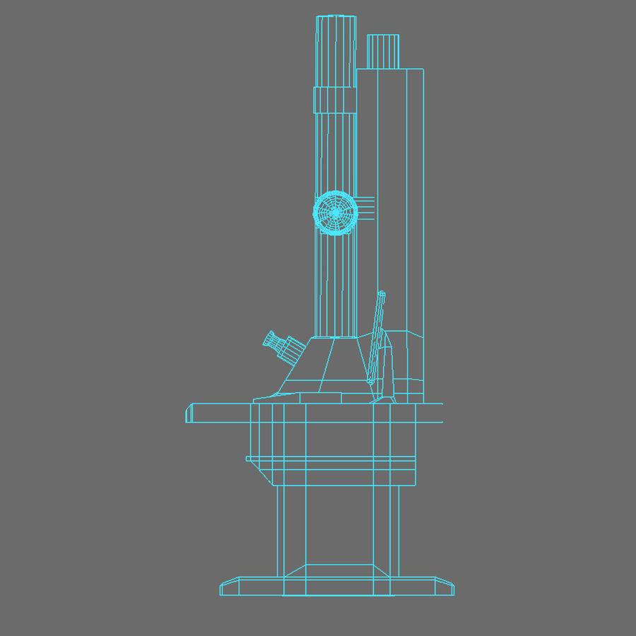 Электронный микроскоп royalty-free 3d model - Preview no. 18