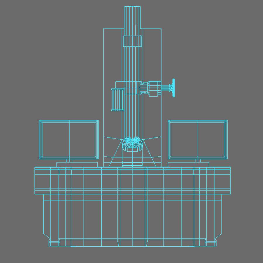 Электронный микроскоп royalty-free 3d model - Preview no. 15