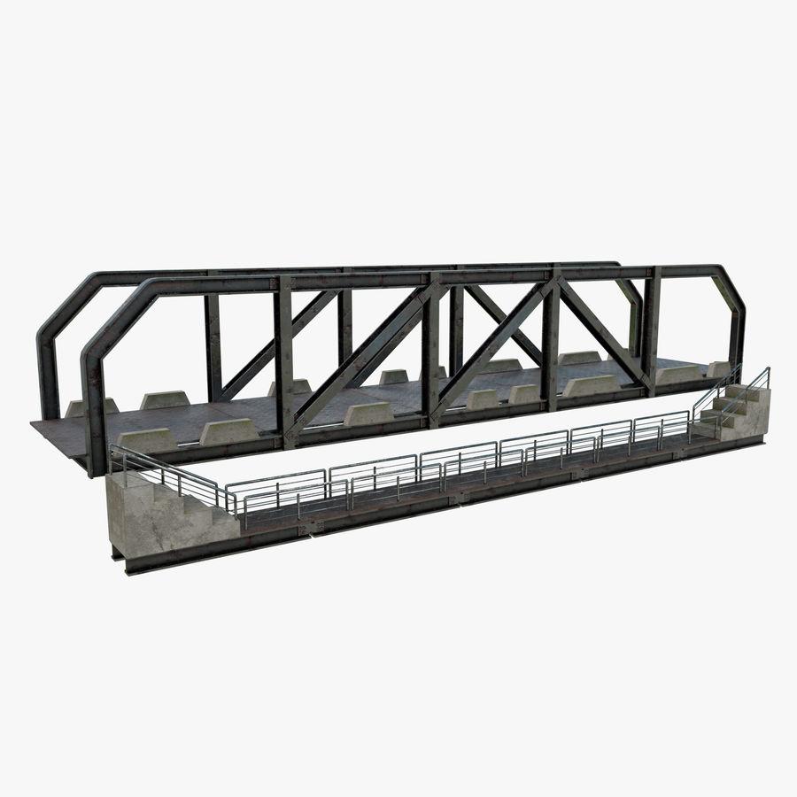 Modular Bridge royalty-free 3d model - Preview no. 1